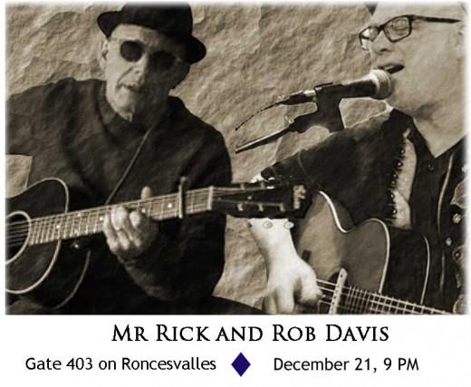 Rob Davis and Mr. Rick
